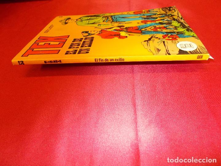 Cómics: TEX. Nº 53. EL FIN DE UN EXILIO. BURU LAN. - Foto 4 - 61506143