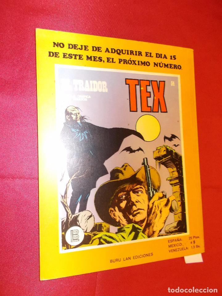 Cómics: TEX. Nº 53. EL FIN DE UN EXILIO. BURU LAN. - Foto 5 - 61506143