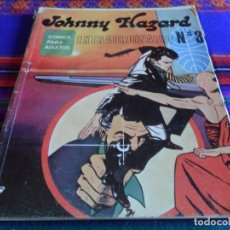 Cómics: JOHNNY HAZARD EXTRAORDINARIO Nº 3 Y APAISADO NºS 1 Y 6. BURU LAN 1973. 25 PTS.. Lote 57930398