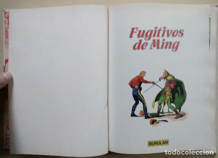 Cómics: Flash Gordon - Fugitivos de Ming - ed. Burulan 1983 - Foto 3 - 63550284