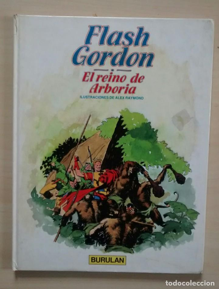 Cómics: Flash Gordon - El Reino de Arboria, Los Hombres selváticos, Fugitivos de Ming - ed. Burulan 1983 - Foto 3 - 63551528