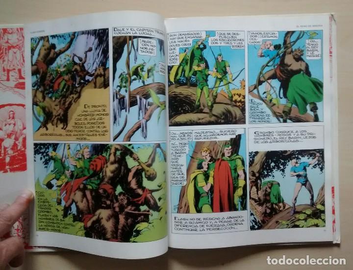 Cómics: Flash Gordon - El Reino de Arboria, Los Hombres selváticos, Fugitivos de Ming - ed. Burulan 1983 - Foto 4 - 63551528