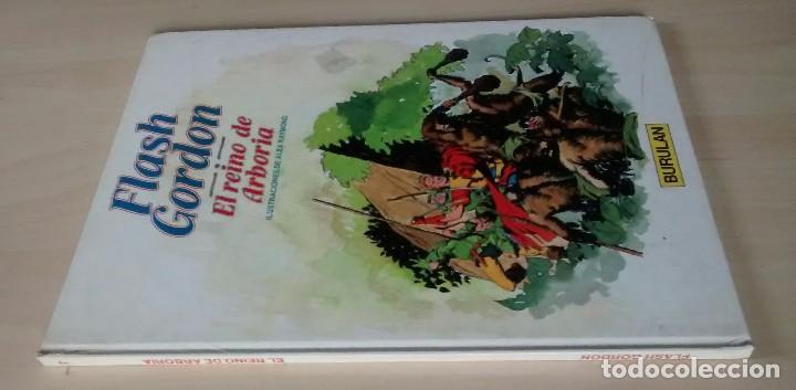 Cómics: Flash Gordon - El Reino de Arboria, Los Hombres selváticos, Fugitivos de Ming - ed. Burulan 1983 - Foto 5 - 63551528