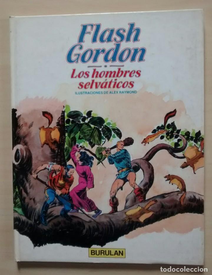 Cómics: Flash Gordon - El Reino de Arboria, Los Hombres selváticos, Fugitivos de Ming - ed. Burulan 1983 - Foto 6 - 63551528