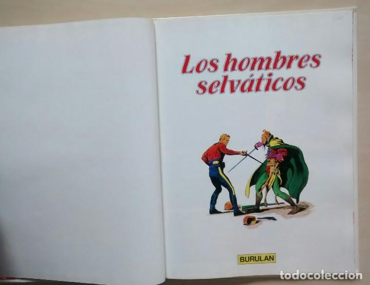 Cómics: Flash Gordon - El Reino de Arboria, Los Hombres selváticos, Fugitivos de Ming - ed. Burulan 1983 - Foto 7 - 63551528