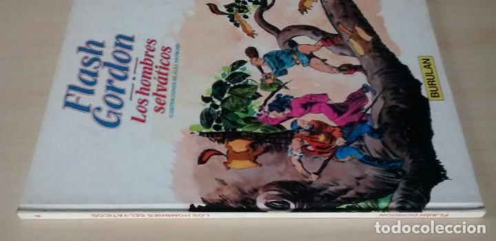 Cómics: Flash Gordon - El Reino de Arboria, Los Hombres selváticos, Fugitivos de Ming - ed. Burulan 1983 - Foto 9 - 63551528