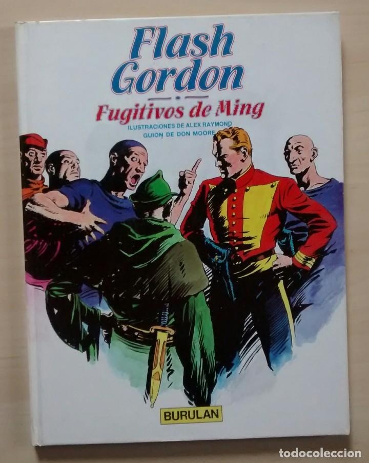 Cómics: Flash Gordon - El Reino de Arboria, Los Hombres selváticos, Fugitivos de Ming - ed. Burulan 1983 - Foto 10 - 63551528