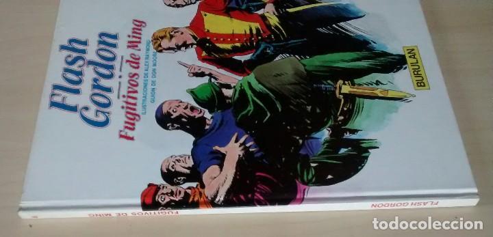 Cómics: Flash Gordon - El Reino de Arboria, Los Hombres selváticos, Fugitivos de Ming - ed. Burulan 1983 - Foto 11 - 63551528