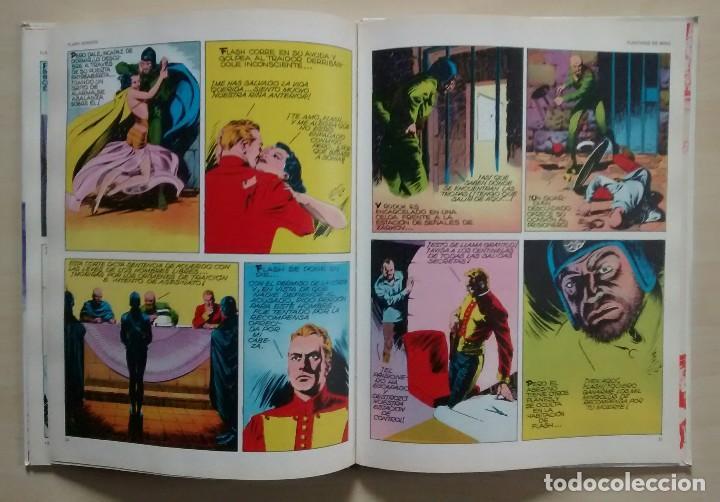 Cómics: Flash Gordon - El Reino de Arboria, Los Hombres selváticos, Fugitivos de Ming - ed. Burulan 1983 - Foto 12 - 63551528