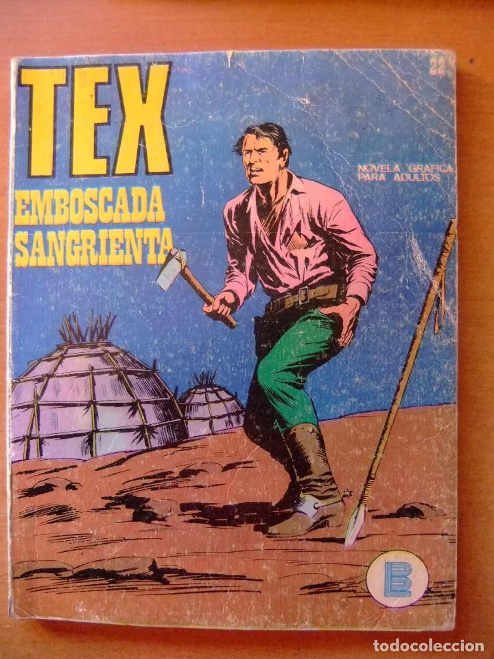 TEX Nº 22 EMBOSCADA SANGRIENTA BURU LAN EDICIONES (Tebeos y Comics - Buru-Lan - Tex)