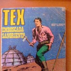 Cómics: TEX Nº 22 EMBOSCADA SANGRIENTA BURU LAN EDICIONES. Lote 64834631