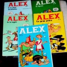 Cómics: ALEX - NºS 1, 2, 4, 5 Y 7 (BURU LAN EDICIONES) OFERTA LOTE. Lote 64984243