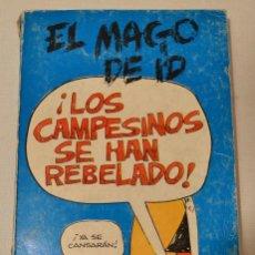 Cómics: EL MAGO DE ID - LOS CAMPESINOS SE HAN REBELADO. Lote 65682830