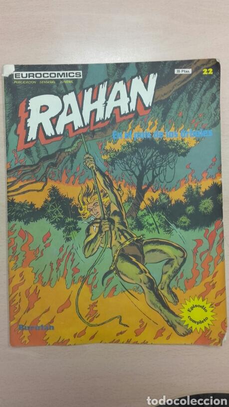 RAHAN N 22 EDICIONES BURULAN EN EL PAÍS DE LOS ÁRBOLES (Tebeos y Comics - Buru-Lan - Rahan)