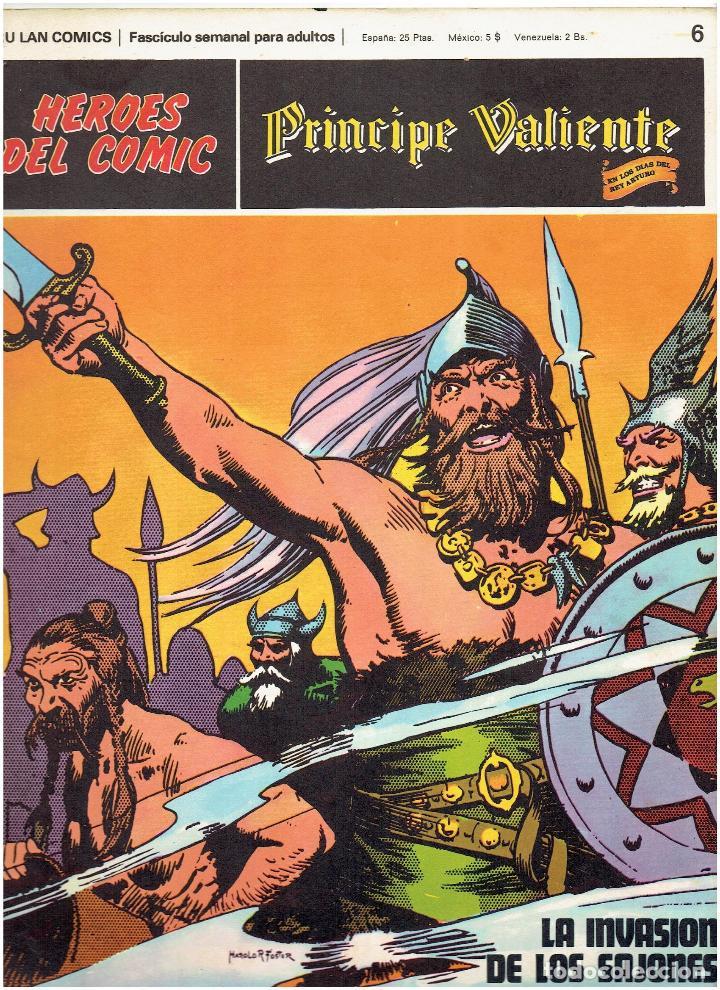 FLASH GORDON-HEROES DEL COMIC DE BURU LAN COMICS Nº 6 (Tebeos y Comics - Buru-Lan - Flash Gordon)