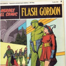 Cómics: FLASH GORDON-HEROES DEL COMIC DE BURU LAN COMICS Nº 9. Lote 66278690