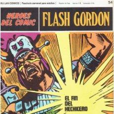 Cómics: FLASH GORDON-HEROES DEL COMIC DE BURU LAN COMICS Nº 54. Lote 66279178