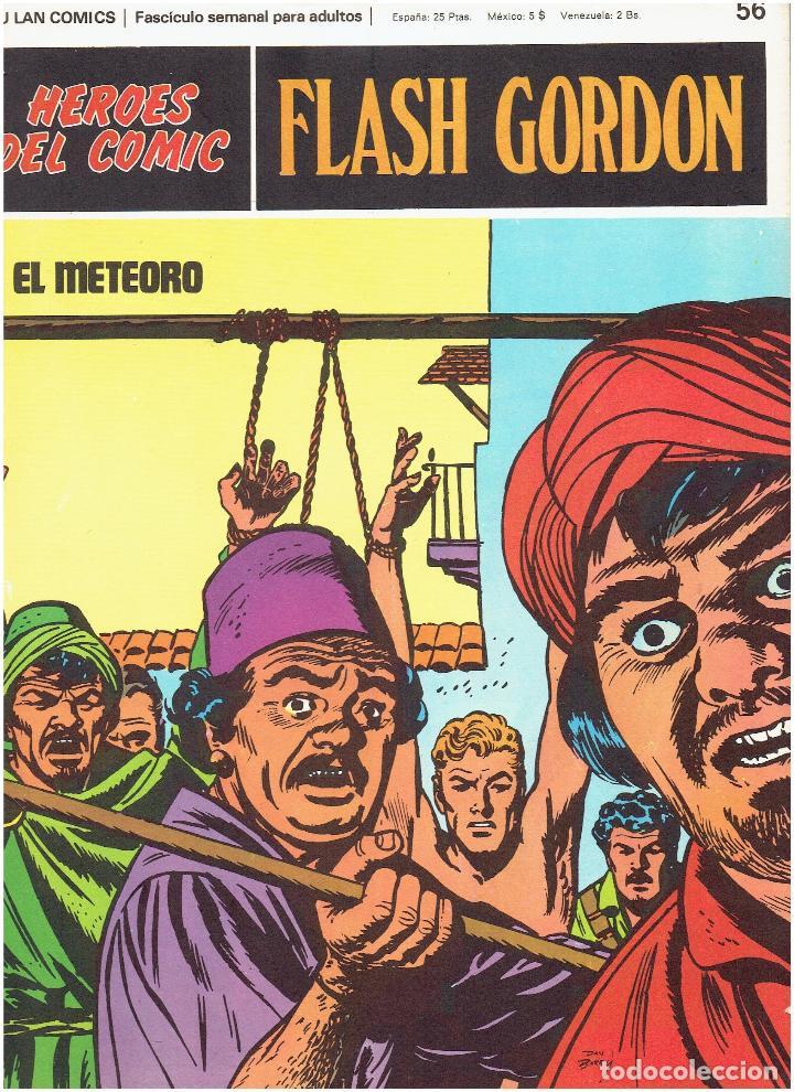 FLASH GORDON-HEROES DEL COMIC DE BURU LAN COMICS Nº 55 (Tebeos y Comics - Buru-Lan - Flash Gordon)