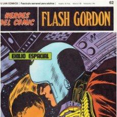 Cómics: FLASH GORDON-HEROES DEL COMIC DE BURU LAN COMICS Nº 62. Lote 66279318