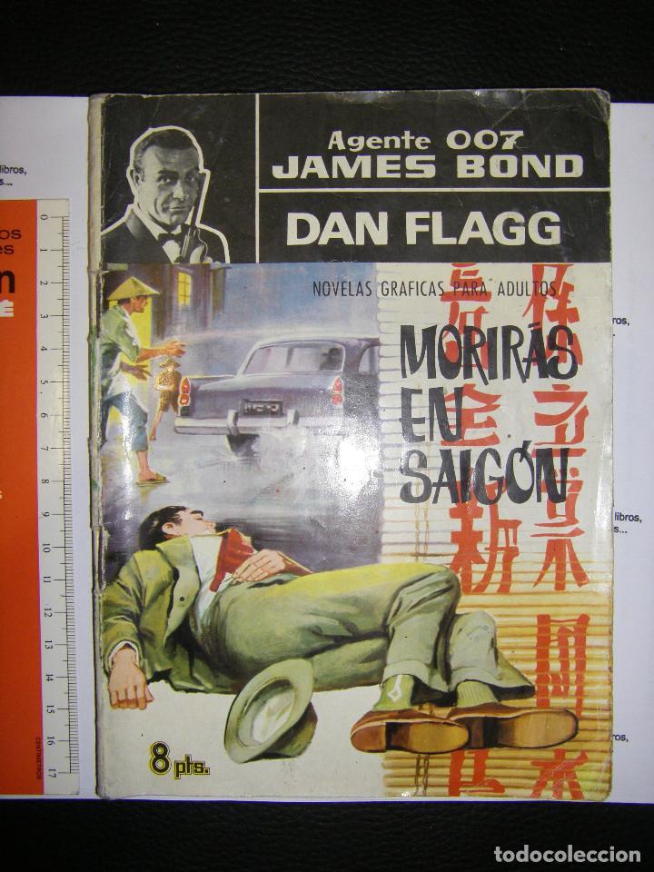 AGENTE 007 JAMES BOND. DAN FLAGG. MORIRAS EN SAIGON (Tebeos y Comics - Buru-Lan - James Bond)