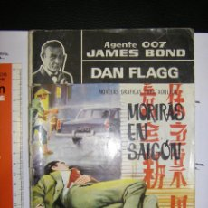 Cómics: AGENTE 007 JAMES BOND. DAN FLAGG. MORIRAS EN SAIGON. Lote 67391761