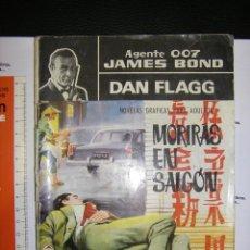Cómics: AGENTE 007 JAMES BOND. DAN FLAGG. MORIRAS EN SAIGON. Lote 67391761