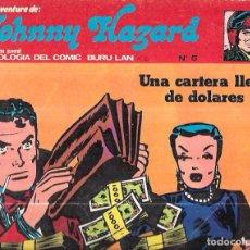 Cómics: JOHNNY HAZARD. ANTOLOGIA DEL COMIC BURU LAN. Nº5. UNA CARTERA LLENA DE DOLARES. 1973. Lote 67811293