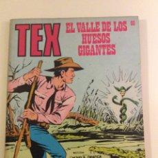 Cómics: EL VALLE DE LOS HUESOS GIGANTES TEX. Lote 67948674