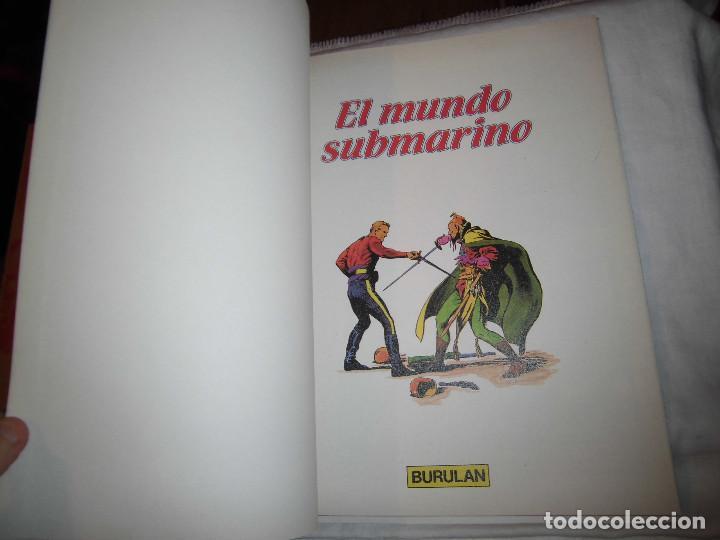 Cómics: FLASH GORDON Nº 5.- EL MUNDO SUBMARINO.ILUSTRACIONES DE ALEX RAYMOND.BURULAN 1983 - Foto 3 - 68072833
