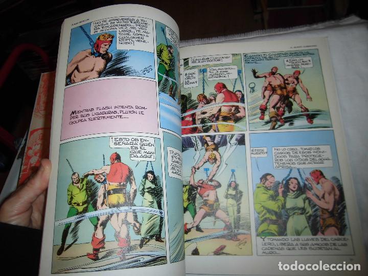 Cómics: FLASH GORDON Nº 5.- EL MUNDO SUBMARINO.ILUSTRACIONES DE ALEX RAYMOND.BURULAN 1983 - Foto 4 - 68072833