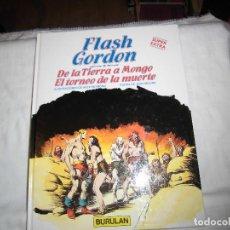 Cómics: FLASH GORDON Nº 1-2.-DE LA TIERRA A MONGO-EL TORNEO DE LA.ILUSTRACIONES DE ALEX RAYMOND.BURULAN 1983. Lote 68073201