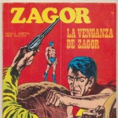 Cómics: ZAGOT Nº 11. BURU LAN 1971.. Lote 68678809
