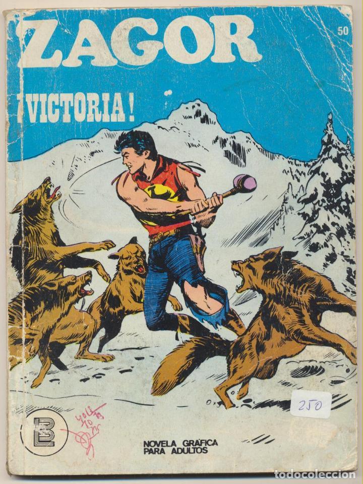 ZAGOR Nº 50. BURU LAN 1971. (Tebeos y Comics - Buru-Lan - Zagor)