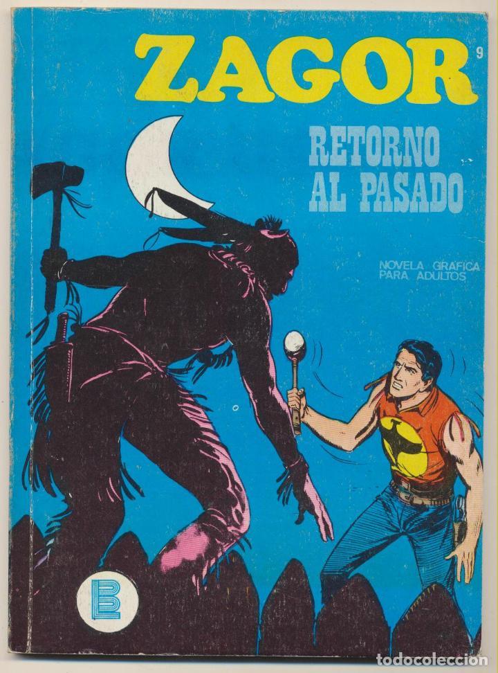 ZAGOR Nº 9. BURU LAN 1971. (Tebeos y Comics - Buru-Lan - Zagor)