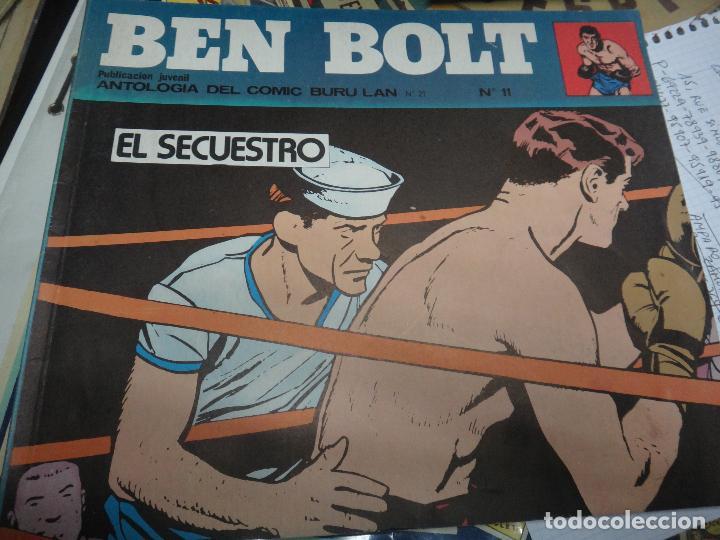 Cómics: BEN BOLT , COLECCION COMPLETA , 12 EJEMPLARES , ORIGINALES - Foto 2 - 37604485