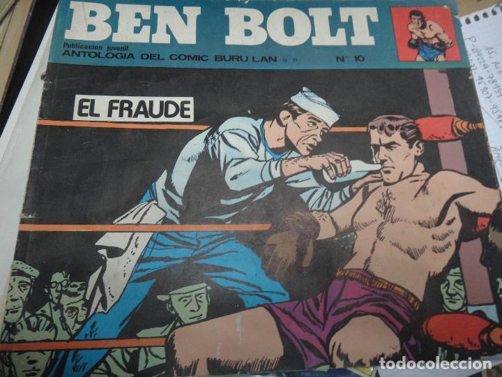 Cómics: BEN BOLT , COLECCION COMPLETA , 12 EJEMPLARES , ORIGINALES - Foto 3 - 37604485