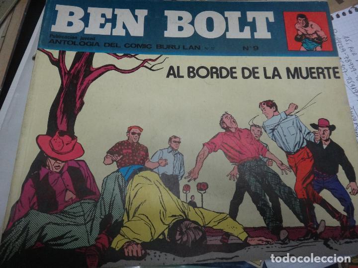 Cómics: BEN BOLT , COLECCION COMPLETA , 12 EJEMPLARES , ORIGINALES - Foto 4 - 37604485