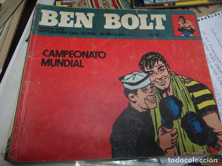 Cómics: BEN BOLT , COLECCION COMPLETA , 12 EJEMPLARES , ORIGINALES - Foto 5 - 37604485