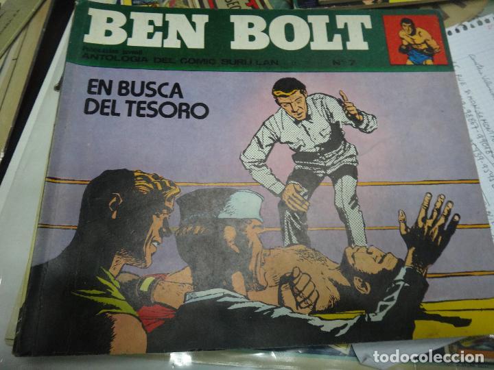 Cómics: BEN BOLT , COLECCION COMPLETA , 12 EJEMPLARES , ORIGINALES - Foto 6 - 37604485