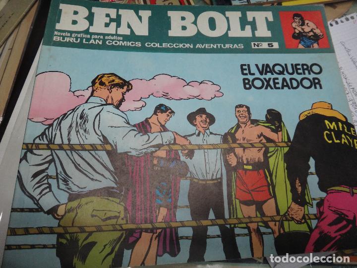 Cómics: BEN BOLT , COLECCION COMPLETA , 12 EJEMPLARES , ORIGINALES - Foto 8 - 37604485