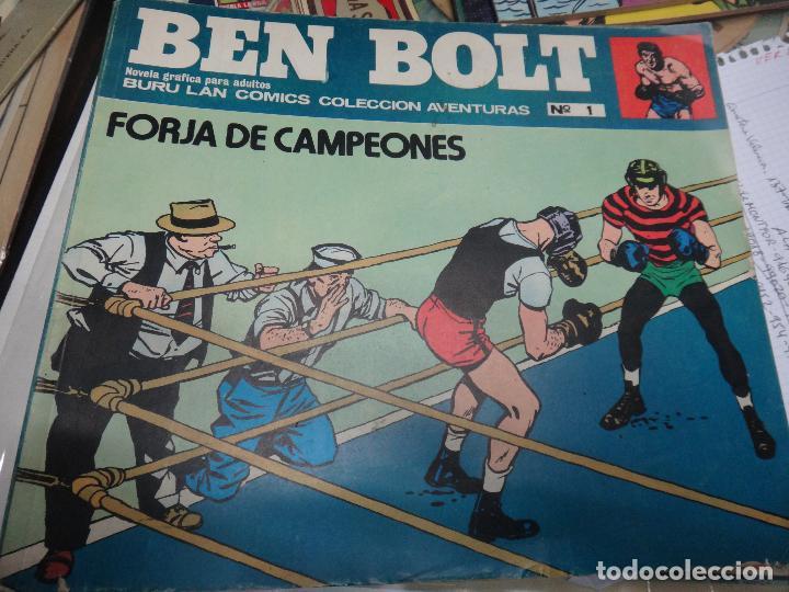 Cómics: BEN BOLT , COLECCION COMPLETA , 12 EJEMPLARES , ORIGINALES - Foto 9 - 37604485