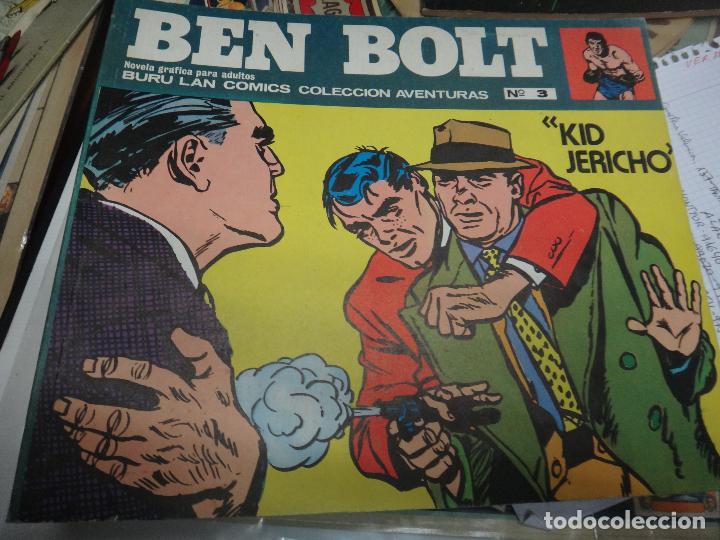 Cómics: BEN BOLT , COLECCION COMPLETA , 12 EJEMPLARES , ORIGINALES - Foto 11 - 37604485