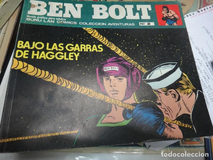 Cómics: BEN BOLT , COLECCION COMPLETA , 12 EJEMPLARES , ORIGINALES - Foto 12 - 37604485