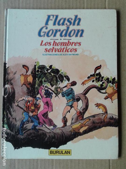 FLASH GORDON: LOS HOMBRES SELVÁTICOS, DE ALEX RAYMOND. ÁLBUM Nº6 DE BURULAN (1983). (Tebeos y Comics - Buru-Lan - Flash Gordon)