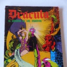 Cómics: DRACULA. EL SENDERO DE LOS MUERTOS. EPISODIOS COMPLETOS. BURU LAN. AÑO 1974 . Lote 71604615