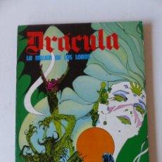 Cómics: DRÁCULA. LA MUJER DE LOS LOBOS. EPISODIOS COMPLETOS . BURU LAN. 1974. Lote 71604819