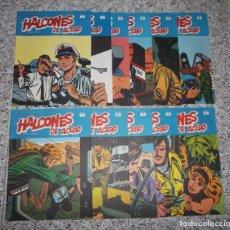 Cómics: HALCONES DE ACERO - LOTE DE 11 NUMEROS - HÉROES DEL COMIC.. Lote 71932655