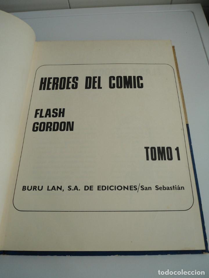 Cómics: 1 FLASH GORDON - HEROES DEL COMIC . TOMO 1 - BURU LAN EDICIONES 1971 - Foto 4 - 72155799
