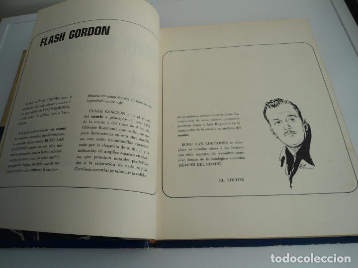 Cómics: 1 FLASH GORDON - HEROES DEL COMIC . TOMO 1 - BURU LAN EDICIONES 1971 - Foto 5 - 72155799