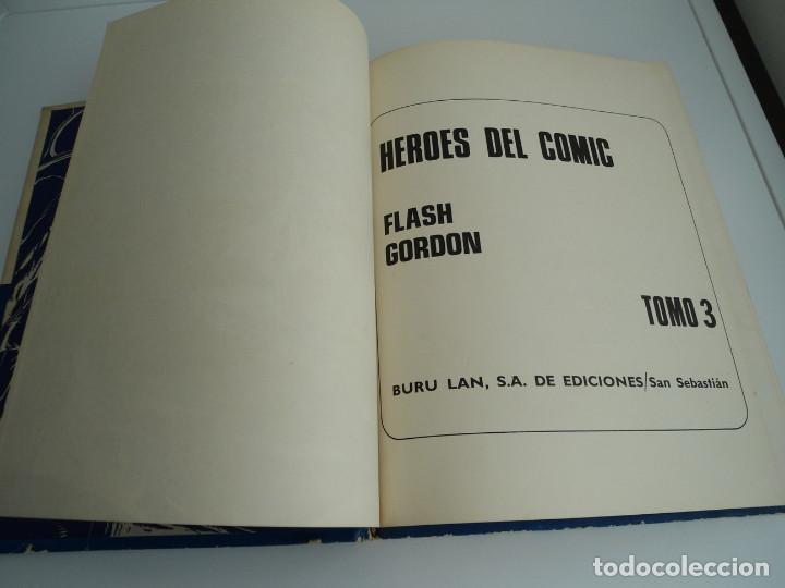 Cómics: 3 FLASH GORDON - HEROES DEL COMIC . TOMO 3 - BURU LAN EDICIONES 1972 - Foto 4 - 72157651